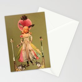 Old animal doll Stationery Cards