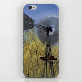 Spinning in the Wind iPhone Skin