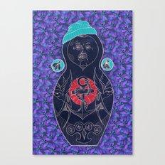 Babushka Canvas Print