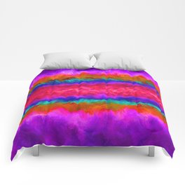 Colors on Fire Comforters