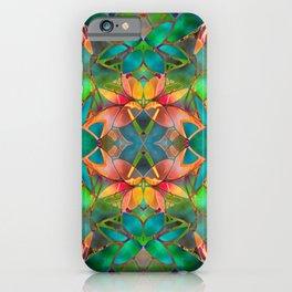 Floral Fractal Art G23 iPhone Case