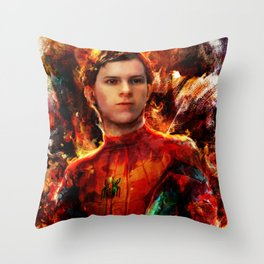 spider tom Throw Pillow