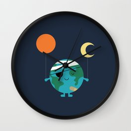 Love Our World More Wall Clock