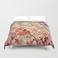 positive Duvet Covers featuring Positive Energy by Olivia Joy StClaire