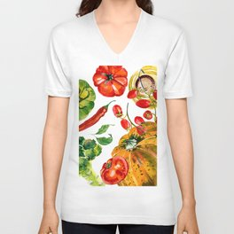 Vegetable mix Unisex V-Neck