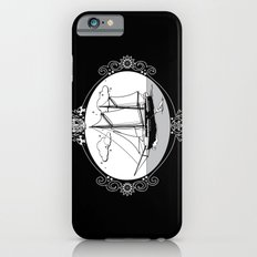 Sailing Ship Oval iPhone 6s Slim Case