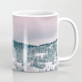 Blush Sky in Woodland Heights Coffee Mug