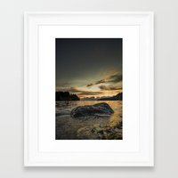 monsters Framed Art Prints featuring Monsters by HappyMelvin