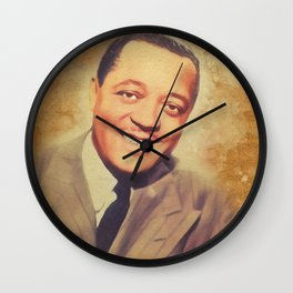 Lester Young, Music Legend Wall Clock