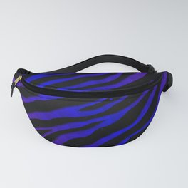 Ripped SpaceTime Stripes - Purple/Blue Fanny Pack