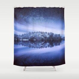 Vanajavesi lake Finland Shower Curtain