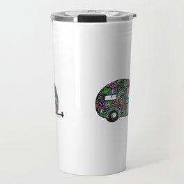 Happy Camper in Color Travel Mug