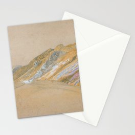 Samuel Palmer - Mountains By The Traveller's Rest Near Dolgelly - Digital Remastered Edition Stationery Cards