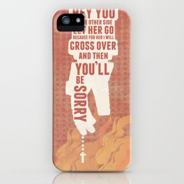 Hellboy Propaganda  iPhone Case