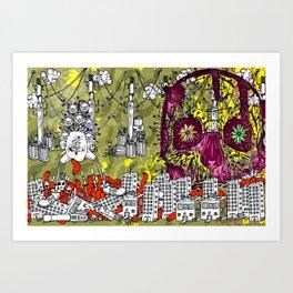No Rush to Trash - 1 Art Print
