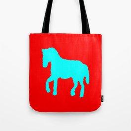 Blue horse  ign Tote Bag