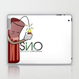 S.N.O Blowing up Laptop & iPad Skin