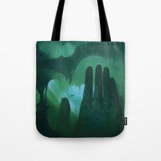 La mano Tote Bag