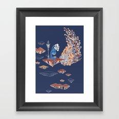 Alien Monster Framed Art Print