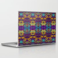 code Laptop & iPad Skins featuring Circuit Code by Emma Stein