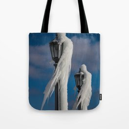 ice lamp ladies Tote Bag