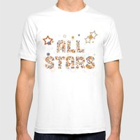 All Stars MEDIUM Mens Fitted Tee White