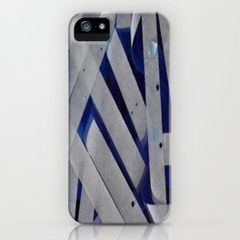 water stripes iPhone Case