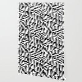Crosshatched yourself Wallpaper