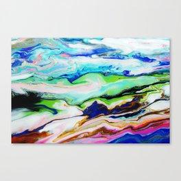 mountainous moments  Canvas Print