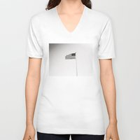 flag V-neck T-shirts featuring flag by ingardens
