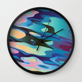Fluid Sugar Wall Clock
