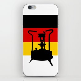 Pressure Stove with German Flag iPhone Skin