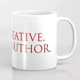 I am creative. I am an author. Affirmation Coffee Mug
