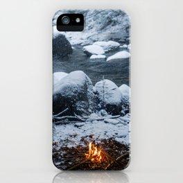 Vermont Winter iPhone Case