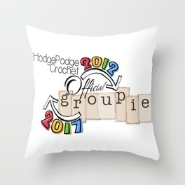 Fall Groupie 2017 Throw Pillow