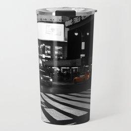 Times Square Travel Mug