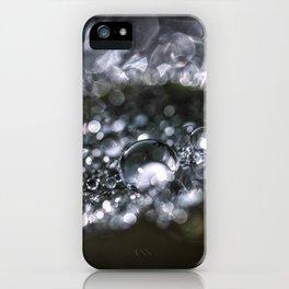 Raindrop world iPhone Case