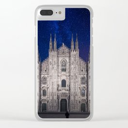 Under the starlit sky Clear iPhone Case