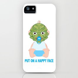 Put on a Happy Face iPhone Case