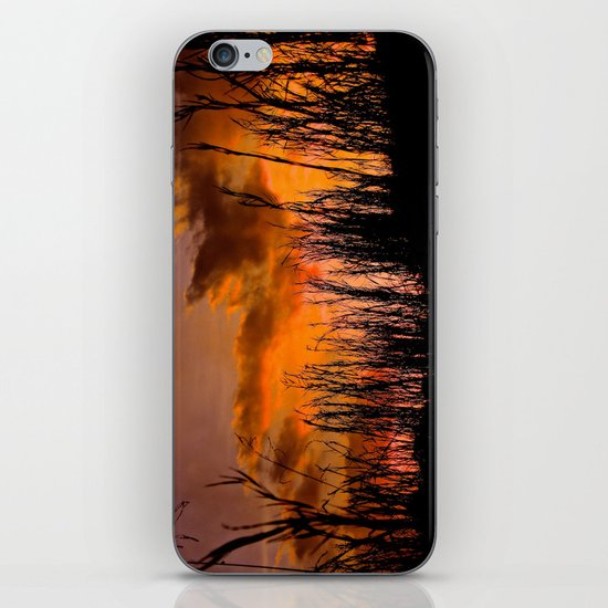 Fall's First Sunset iPhone & iPod Skin