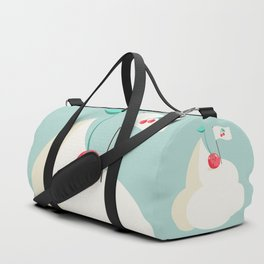 Cherry on top (of the whipped cream mountain) Duffle Bag