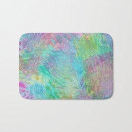 Rainbow Abstract Pattern Bath Mat