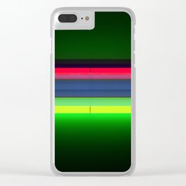 Neon Room Part 2 Clear iPhone Case