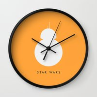 best friend Wall Clocks featuring Best Friend by Kyle Trask