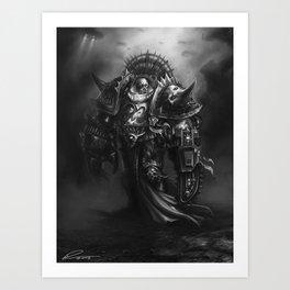 Champion Of Chaos Undivided Art Print