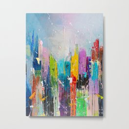 ABSTRACT CITYSCAPE 7 Metal Print
