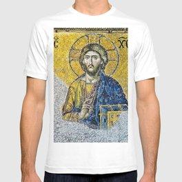 Jesus Christ Byzantine Mosaic Hagia Sophia T-shirt