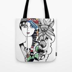 Cactus Eye Pop Style Tote Bag