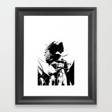 Pressure Point Framed Art Print