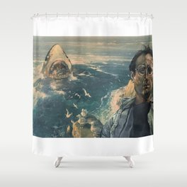 The Moment of Realization Shower Curtain